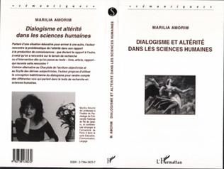 Couverture Dialogisme et altérité dans les sciences humaines