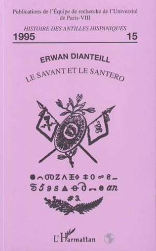 Couverture Le savant et le Santero