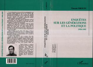 Couverture Enquêtes sur les générations et la politique (1958-1995)