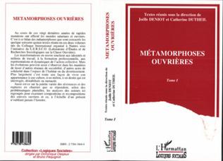 Couverture Métamorphoses ouvrières