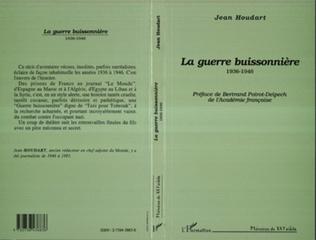 Couverture La guerre buissonnière 1936-1946