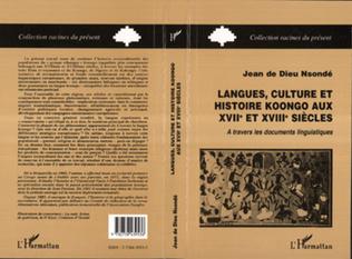 Couverture Langues, culture et histoire Koongo au XVIIIème siècle