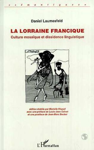 Couverture La Lorraine francique