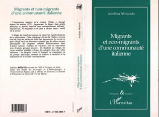 Couverture Migrants et non-migrants d'une communauté italienne