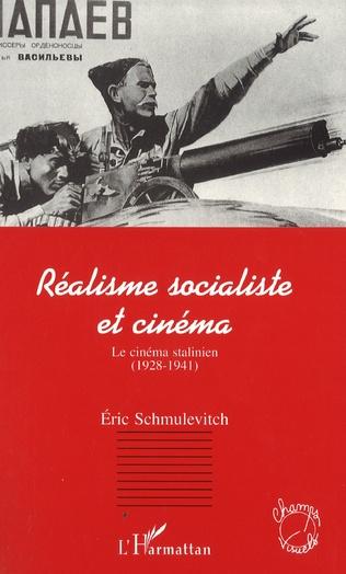 Couverture Réalisme socialiste et cinéma