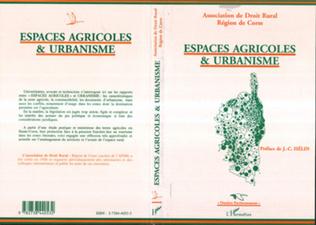 Couverture Espaces agricoles et urbanisme