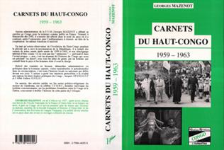 Couverture Camets du Haut-Congo 1959-1963
