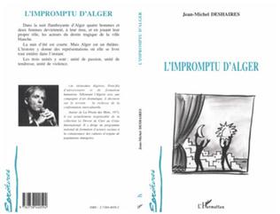 Couverture L'impromptu d'Alger