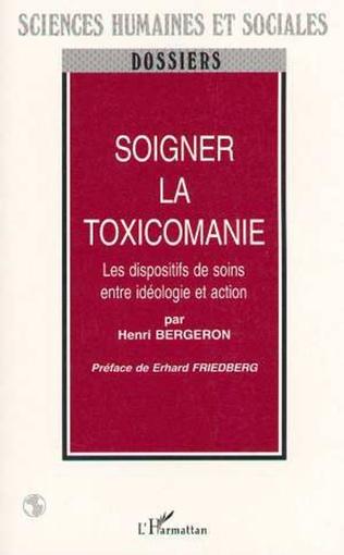 Couverture SOIGNER LA TOXICOMANIE