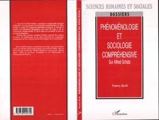 Couverture Phénoménologie et sociologie compréhensive