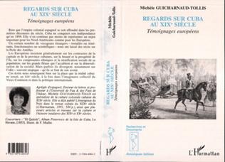 Couverture Regards sur Cuba au XIXème siècle