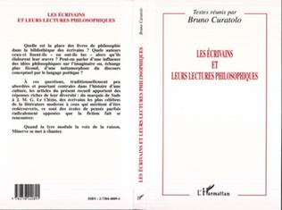 Couverture Les écrivains et leurs lectures philosophiques