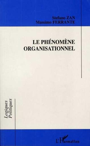 Couverture Le phénomène organisationnel