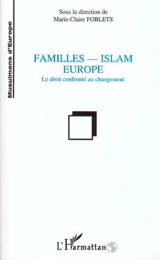 Couverture Famille-Islam-Europe