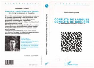 Couverture Conflits de langue, conflits de groupes