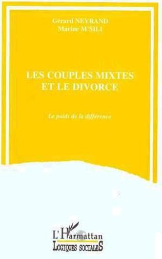 Couverture Les couples mixtes et le divorce