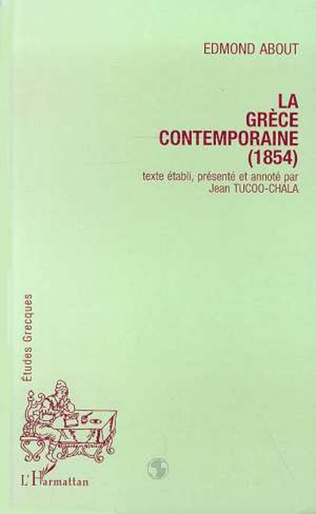 Couverture La Grèce contemporaine (1854)