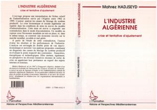Couverture L'industrie algérienne