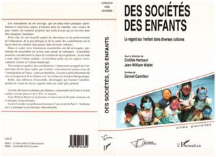Couverture Des sociétés, des enfants
