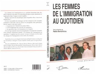 Couverture LES FEMMES DE L'IMMIGRATION AU QUOTIDIEN