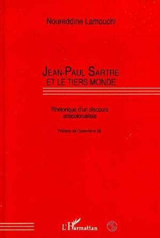 Couverture Jean-Paul Sartre et le Tiers-Monde