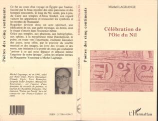 Couverture Célébration de l'Oie de Nil