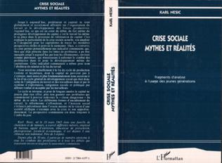 Couverture Crise sociale, mythes et réalités