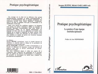 Couverture Pratique psychogériatrique