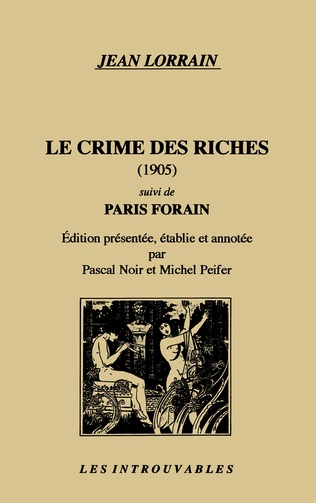 Couverture Le crime des riches suivi de