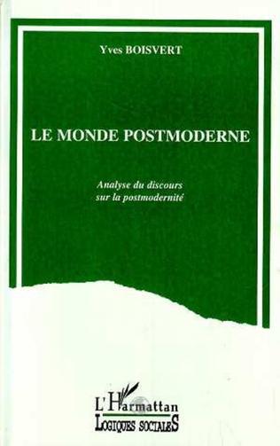 Couverture Le monde postmoderne