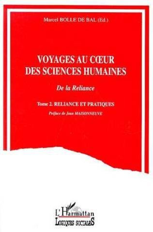 Couverture Voyages au coeur des sciences humaines