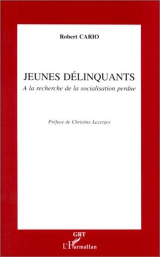 Couverture JEUNES DELINQUANTS