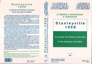 Couverture Stanleyville 1959