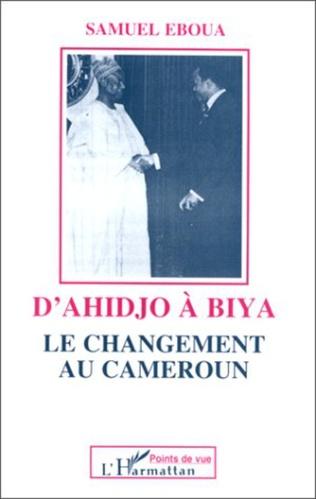 Couverture D'Ahidjo à Biya