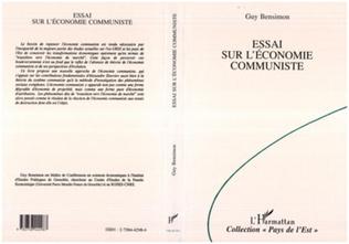 Couverture Essai sur l'économie communiste