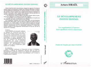 Couverture Développement institutionnel