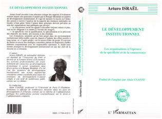 Couverture Développement institutionnel