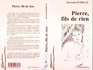 Couverture Pierre, fils de rien