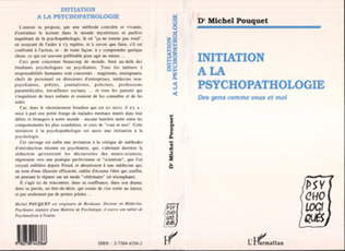 Couverture Initiation à la psychopathologie