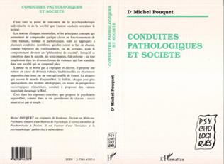 Couverture Conduites pathologiques et société