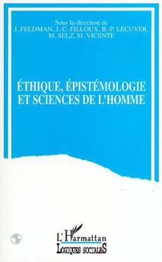 Couverture Ethique, épistémologie et sciences de l'homme