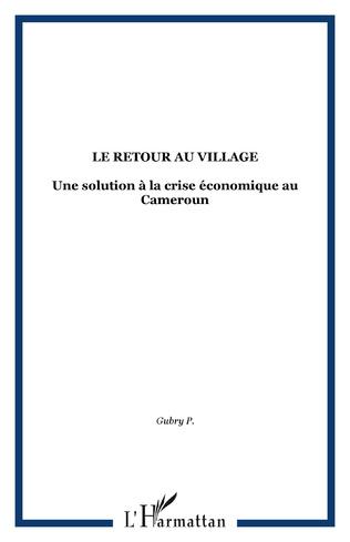 Couverture Le retour au village