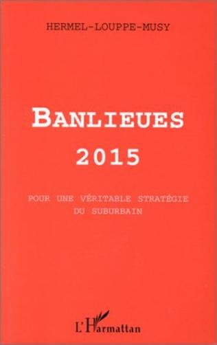 Couverture Banlieues 2015