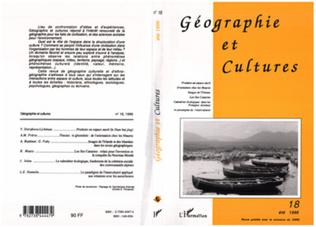 Couverture Géographie et cultures n°18
