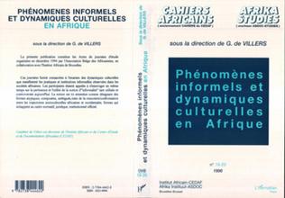 Couverture Phénomènes informels et dynamiques culturelles en Afrique