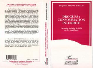 Couverture DROGUES : CONSOMMATION INTERDITE