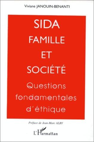 Couverture Sida, famille et société