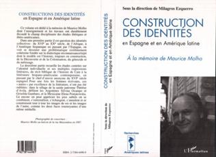 Couverture Construction des identités en Espagne et en Amérique Latine