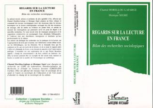 Couverture Regard sur la lecture en France