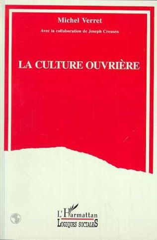 Couverture La culture ouvrière